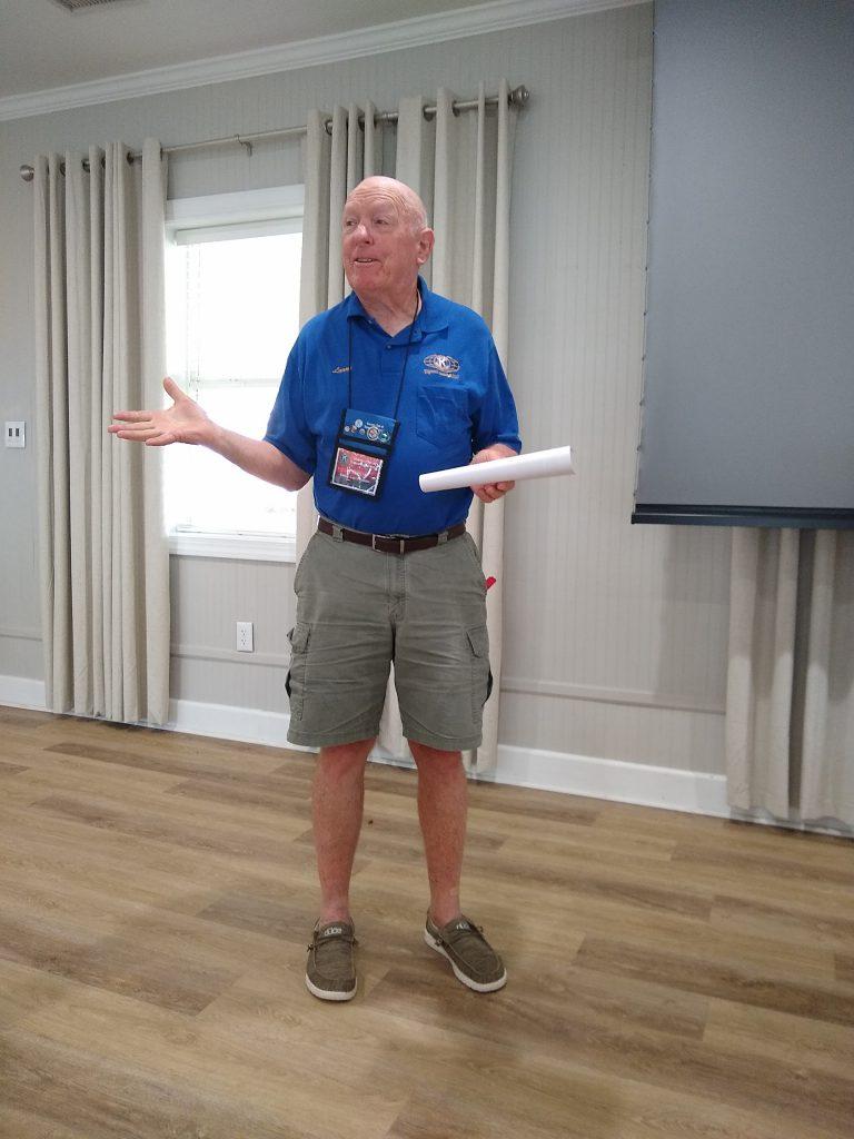Larry Combs, Foundation Treasurer