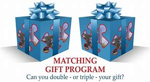 Matching Gift Program - Can you double or triple your gift?