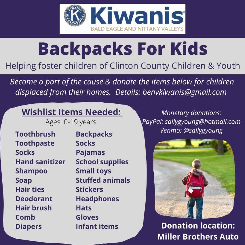 Backpack for Kids Flyer
